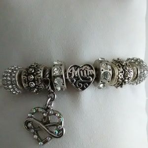 "Jewelry - ""Mum's the Word"" Mother's Day Collection Bracelet"